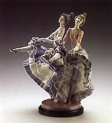 Can Can (b) Lladro Figurine
