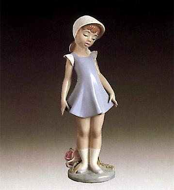 Candid Lladro Figurine