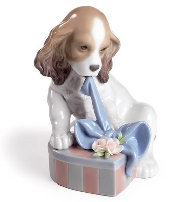 Can't Wait! Lladro Figurine