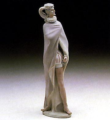 Caped Gentleman Lladro Figurine