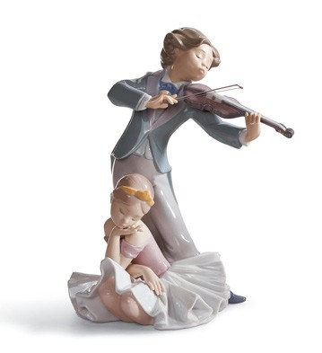Captivating Melody Lladro Figurine