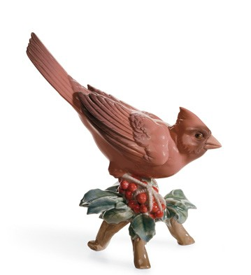 Cardinal Lladro Figurine