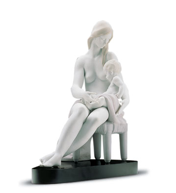 Care And Tenderness (b) Lladro Figurine