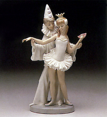 Carnival Couple Lladro Figurine