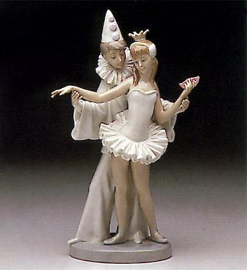 Carnival Couple Lladro Figurine