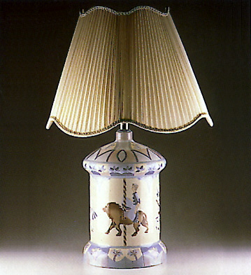 Carousel Lamp Lladro Figurine