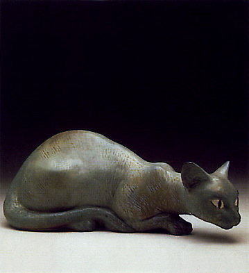 Cat Lladro Figurine