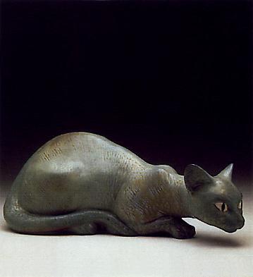 Cat Lladro Figurine