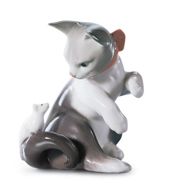Cat And Mouse Lladro Figurine