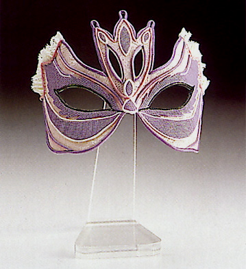 Cat Eyes Mask N.10 Lladro Figurine