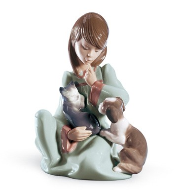Cat Nap Lladro Figurine