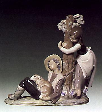 Caught Napping Lladro Figurine