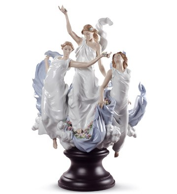 Celebration Of Spring Lladro Figurine