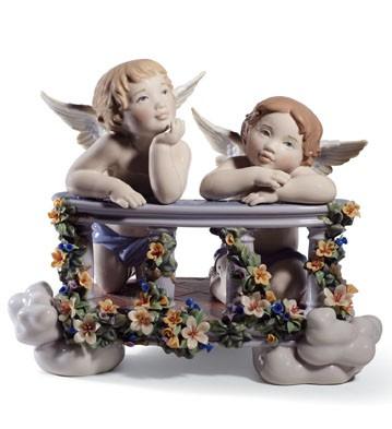 Celestial Balcony Lladro Figurine