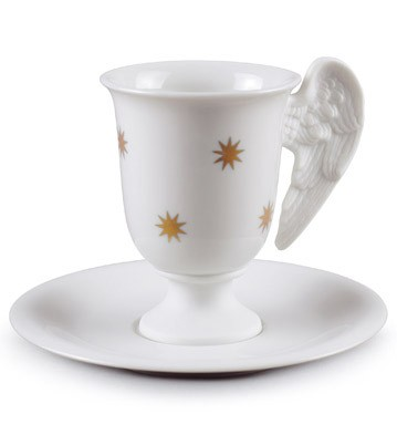 Celestial Coffee Cup Lladro Figurine
