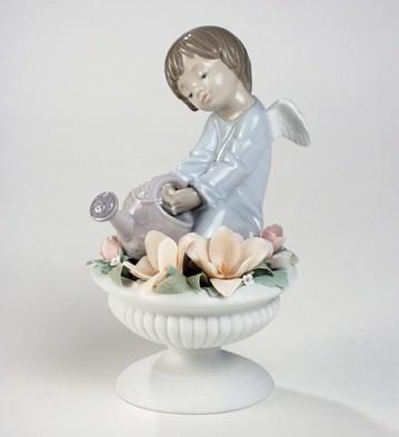 Celestial Flowers Lladro Figurine