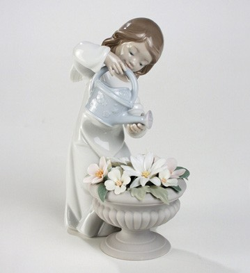 Celestial Gardener Lladro Figurine
