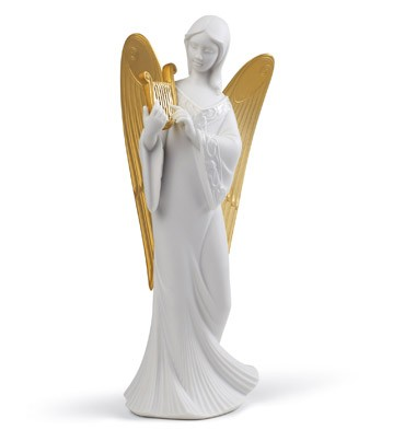 Celestial Melody (tree Topper) (re-deco) Lladro Figurine