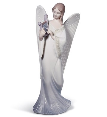Celestial Melody (tree Topper) Lladro Figurine