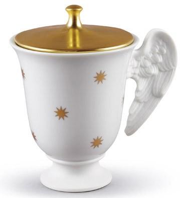 Celestial Tea Cup Lladro Figurine
