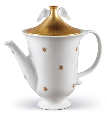 Celestial Teapot Lladro Figurine