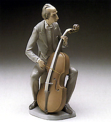 Cellist Lladro Figurine