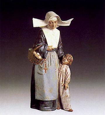 Charity Lladro Figurine