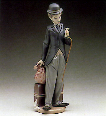Charlie The Tramp Lladro Figurine