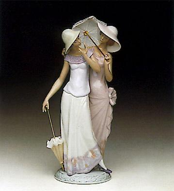 Charming Duet Lladro Figurine