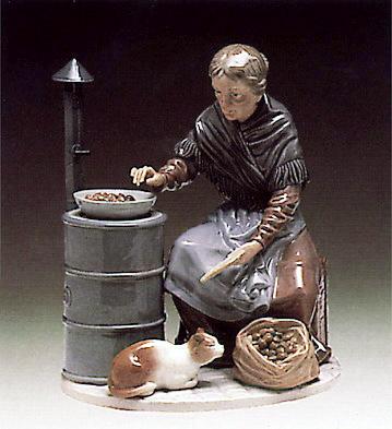 Chestnut Seller Lladro Figurine