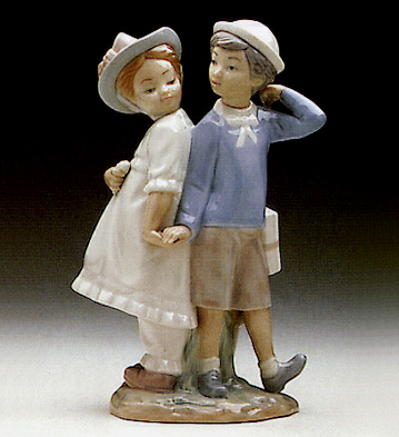 Children Lladro Figurine