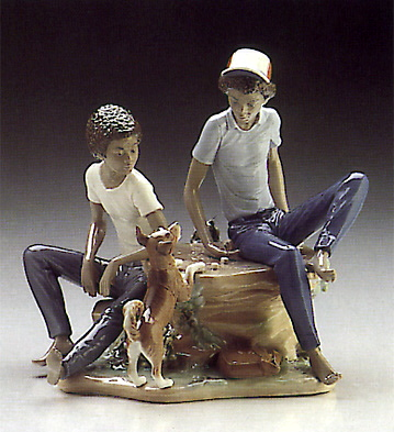 Children's Games Lladro Figurine