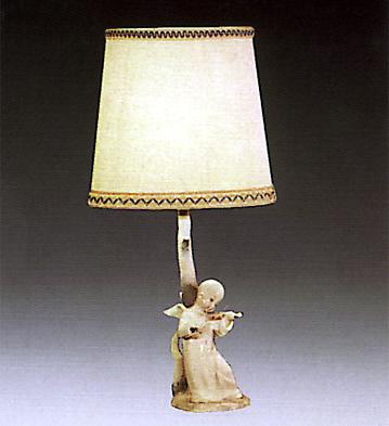 Chinese Angel (lamp) Lladro Figurine