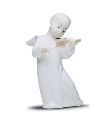 Chinese Angel Lladro Figurine