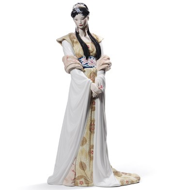 Chinese Beauty Lladro Figurine