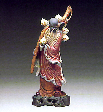 Chinese Farmer Lladro Figurine