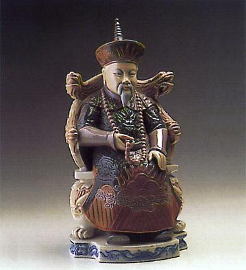 Chinese Nobleman Lladro Figurine