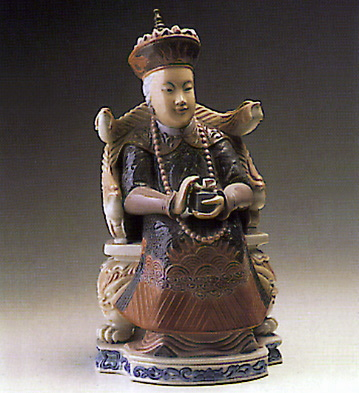 Chinese Noblewoman Lladro Figurine