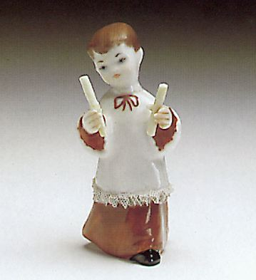 Choir Boy Lladro Figurine