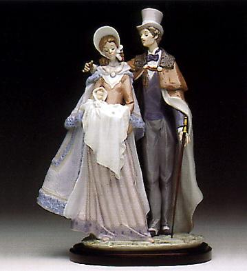 Christening Day(b) Lladro Figurine
