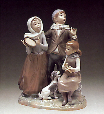 Christmas Carols Lladro Figurine