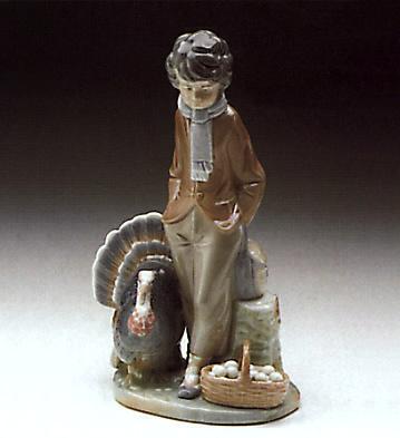 Christmas Seller Lladro Figurine