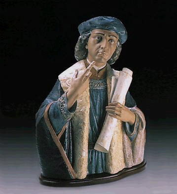 Christopher Columbus Lladro Figurine