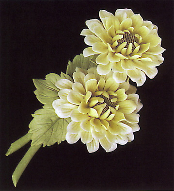 Chrysanthemum With Base Lladro Figurine