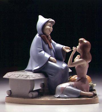 Cinderella Fayry Godmothe Lladro Figurine
