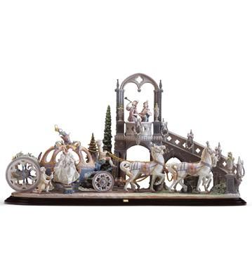Cinderella's Arrival Lladro Figurine