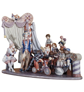 High Porcelain Lladro Figurines