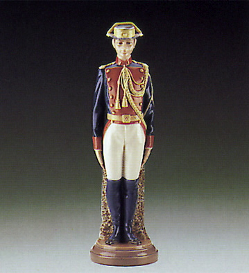 Civil Guard At Attention Lladro Figurine