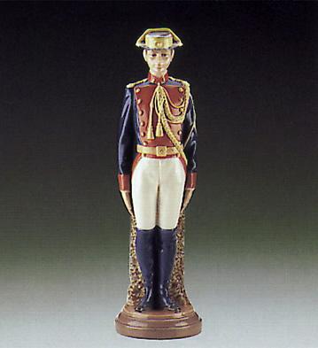 Civil Guard At Attention Lladro Figurine