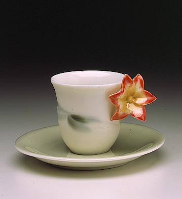 Clivia Cup With Saucer Lladro Figurine